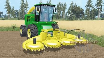John Deere 7180 & Kemper 460 plus para Farming Simulator 2015