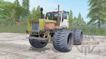 T-150K moderadamente cor amarela para Farming Simulator 2017