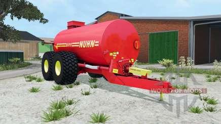 Nuhn Mugnum 5000 light brilliant red para Farming Simulator 2015