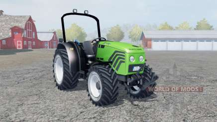 Deutz-Fahr Agroplus 77 lime green para Farming Simulator 2013
