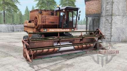 Não-1500 marrom cor amarela para Farming Simulator 2017