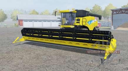 A New Holland CR9090 de titânio yᶒllow para Farming Simulator 2013