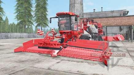 Holmer Terra Felis 2 red orange para Farming Simulator 2017