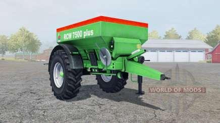 Unia RCW 7500 plus para Farming Simulator 2013