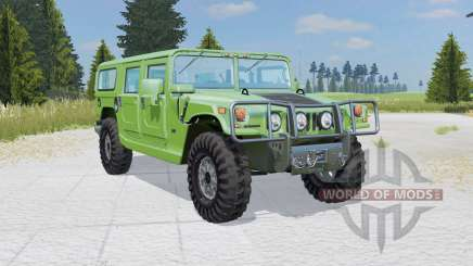 Hummer H1 Alpha Wagon 2006 para Farming Simulator 2015