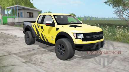 Ford F-150 SVT Raptor SuperCab 2009 para Farming Simulator 2017