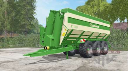 Krone TX 430 pantone green para Farming Simulator 2017