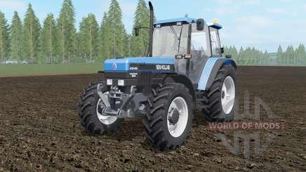 New Holland 8340 spanish sky blue para Farming Simulator 2017