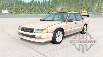 Ibishu Pessima 1988 rusty skin v0.2 para BeamNG Drive