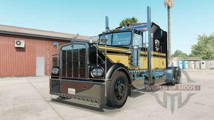 Kenworth W900A black para American Truck Simulator