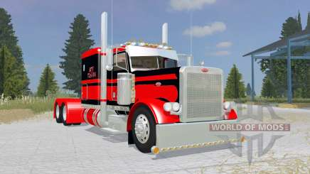 Peterbilt 379 Flat Top red para Farming Simulator 2015