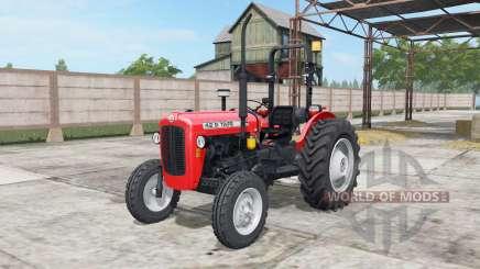 Tafe 42 DI light brilliant red para Farming Simulator 2017