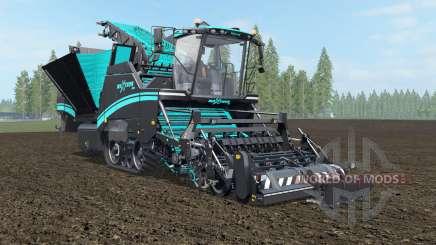 Grimme Maxtron 620 turquoise blue para Farming Simulator 2017