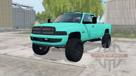 Dodge Ram 2500 Club Cab 1994 para Farming Simulator 2017