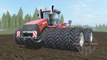 Case IH Steiger 1000 cinnabar para Farming Simulator 2017