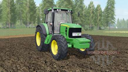 John Deere 6030&7030 Premium with weights para Farming Simulator 2017