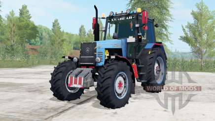 MTZ-1221 Bielorrússia cor azul para Farming Simulator 2017