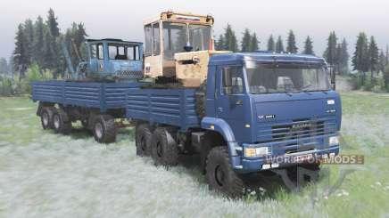 KamAZ-6522 v2.0 para Spin Tires