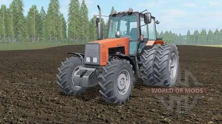 MTZ-1221 Bielorrússia luz de cor laranja para Farming Simulator 2017