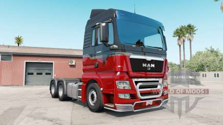 MAN TGX rosso corsa para American Truck Simulator