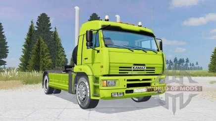 KamAZ-5460 verde-limão cor para Farming Simulator 2015