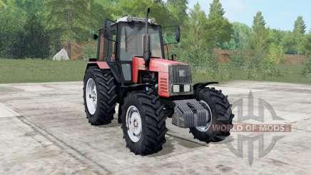 MTZ-1221 Bielorrússia cor para Farming Simulator 2017