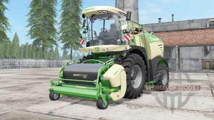 Krone BiG X 480 lime green para Farming Simulator 2017