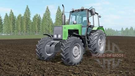 MTZ-1221 Bielorrússia cor verde para Farming Simulator 2017