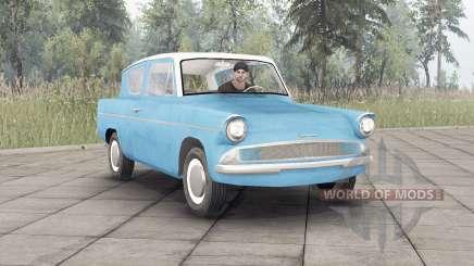 Ford Anglia (105E) 1959 para Spin Tires