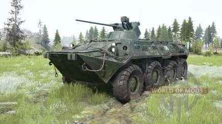 O BTR-82A para MudRunner