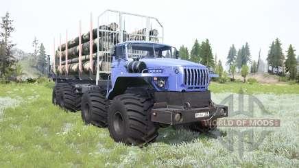 VTS de Ural-Polyarnik 8x8 para MudRunner