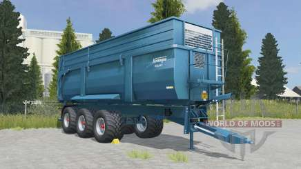 Krampe Big Body 900 S eastern blue para Farming Simulator 2015
