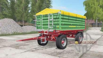 Strautmann SZK 1402 medium sea green para Farming Simulator 2017