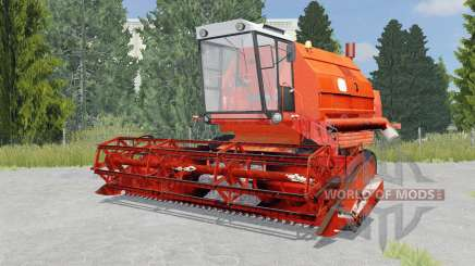Bizon Gigant Z083 international orange para Farming Simulator 2015