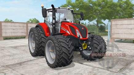 A New Holland T5.120 Fiᶏt Centenario para Farming Simulator 2017