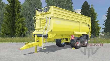 Krampe Bandit 750 golden fizz para Farming Simulator 2015