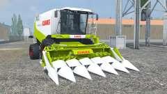 Claas Lexion 550 vivid lime green para Farming Simulator 2013