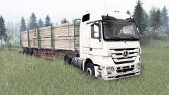 Mercedes-Benz Actros (MP3) para Spin Tires