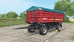 Metaltech DB 14 alizarin crimson para Farming Simulator 2017