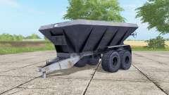 HLM-8B cor cinza-azul para Farming Simulator 2017