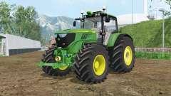 John Deere 6170M wheels weights para Farming Simulator 2015