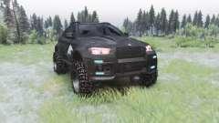 BMW X6 M (E71) BORZ para Spin Tires