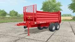 SIP Orion 100 light brilliant red para Farming Simulator 2017