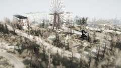 A área de devastação 2 para MudRunner