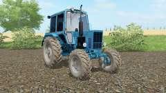 MTZ-82 Bielorrússia cor azul para Farming Simulator 2017