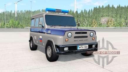 UAZ Antigênicas COP para BeamNG Drive