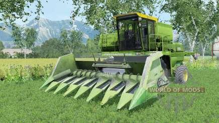 Não-1500A moderada-cor verde para Farming Simulator 2015