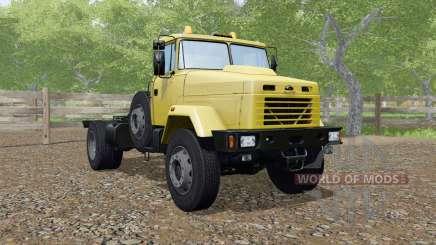 KrAZ-5133 cor amarela para Farming Simulator 2017