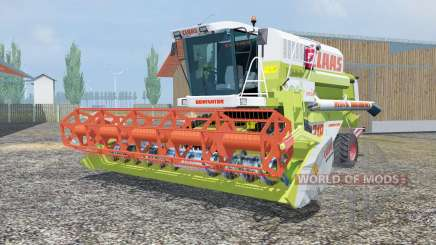 Claas Mega 218 MoreRealistic para Farming Simulator 2013