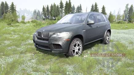 BMW X5 M (E70) 2013 para MudRunner